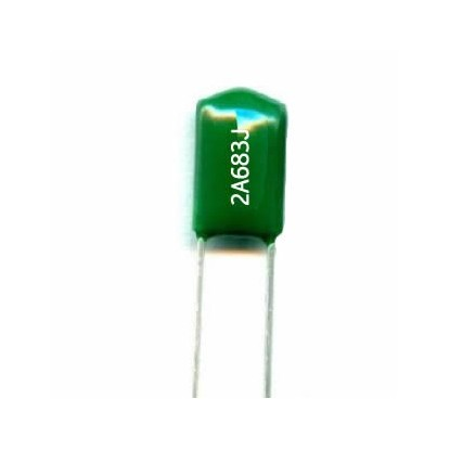 CAPACITOR POLIESTER 68nF/100V