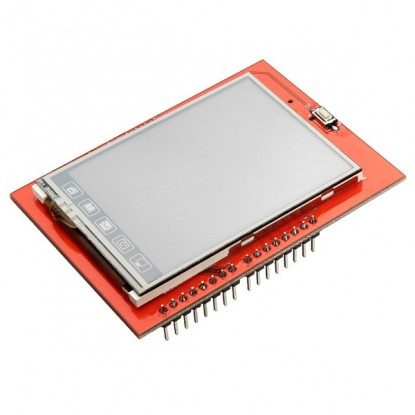 "Shield Tela de Toque LCD 2,4"" TFT : DP74HC245"