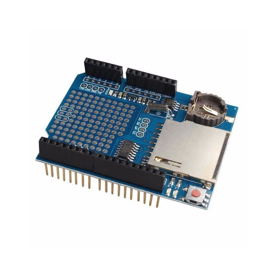 Shield Data Logger Arduino com RTC DS1307