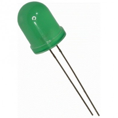 LED DIFUSO VERDE (10mm)