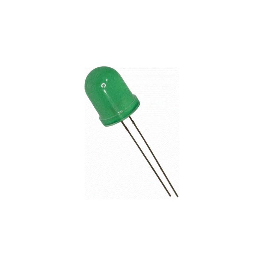 LED DIFUSO VERDE (10mm)