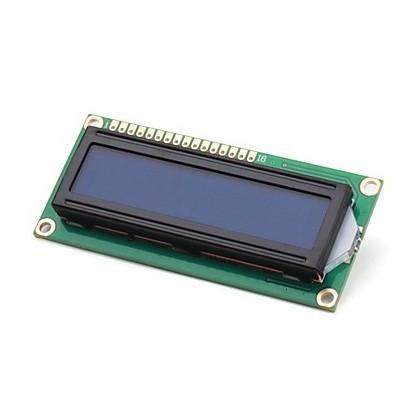 DISPLAY CRISTAL LÍQUIDO (LCD 16X02 - AZ/BR)