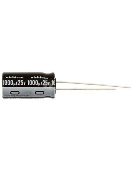 CAPACITOR ELETROLITICO 1000uF/25V