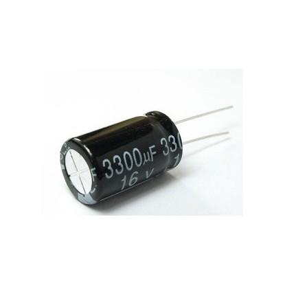 CAPACITOR ELETROLITICO 3300uF/16V
