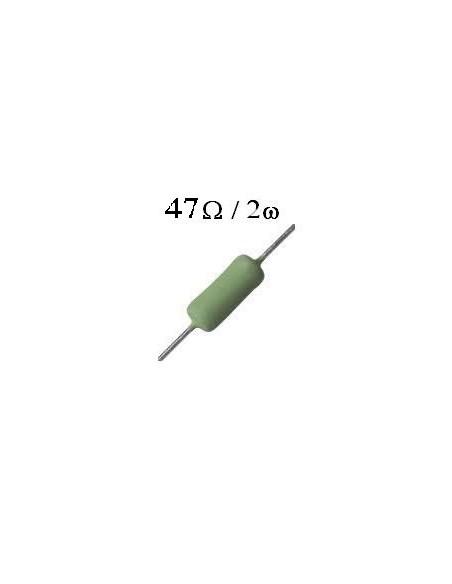 RESISTOR DE FIO 47R / 2W