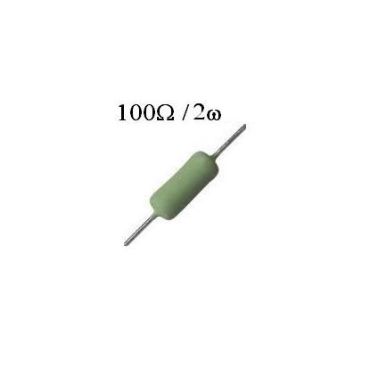 RESISTOR DE FIO 100R / 2W
