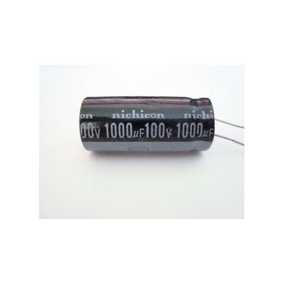 CAPACITOR ELETROLITICO 1000uF/100V