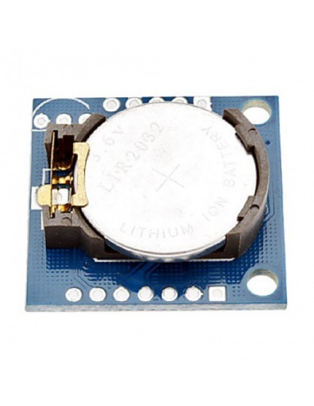 Módulo RTC com DS1307 e EEPROM 24C32 - verso