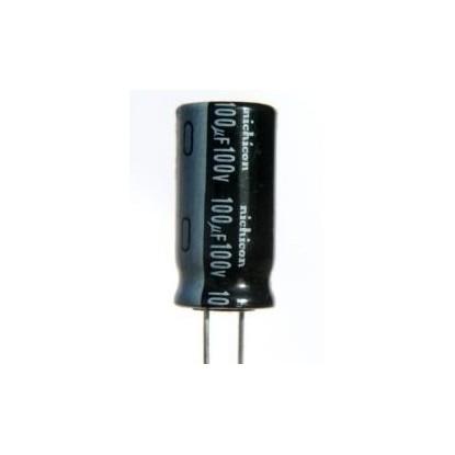 CAPACITOR ELETROLITICO 100uF/100V