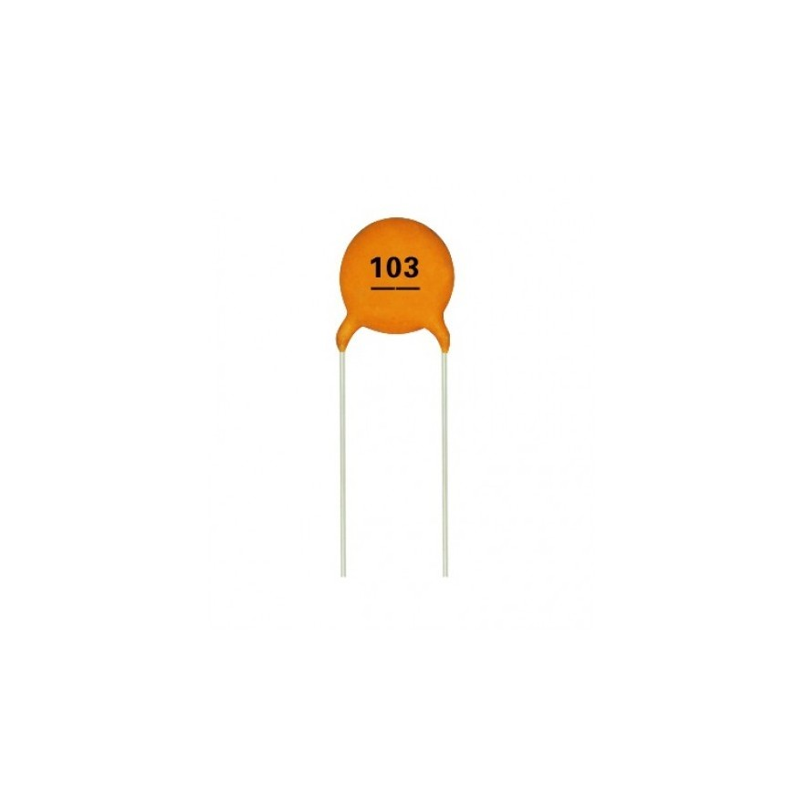 Capacitor Ceramico 10nf 50v Hu Infinito Componentes