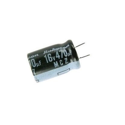 CAPACITOR ELETROLITICO 470uF/16V