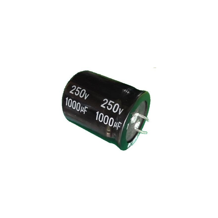 CAPACITOR ELETROLITICO 1000uF/250V