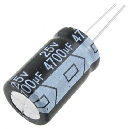 CAPACITOR ELETROLITICO 4700uF/25V