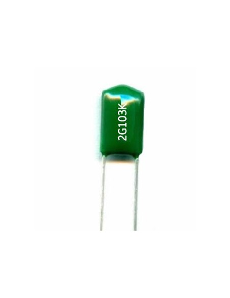 CAPACITOR POLIESTER 10nF/400V