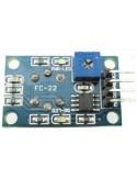 Módulo Sensor de Gás Inflamável e CO MQ-9 - Verso