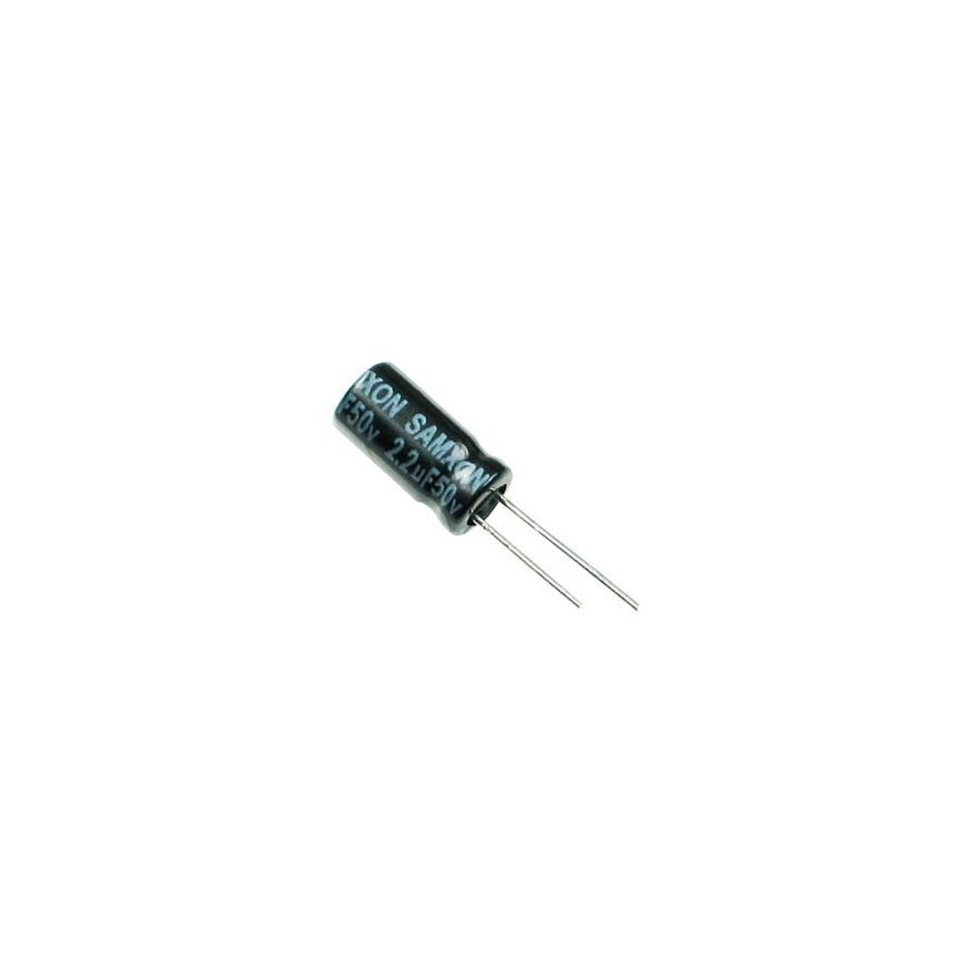 CAPACITOR ELETROLITICO 2,2uF/50V