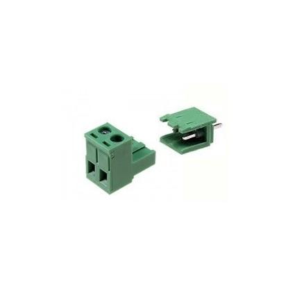 CONECTOR BORNE KRA/KRE 2E-DG MACHO-FEMEA - 2T - 180º (PASSO 5MM - PCI)