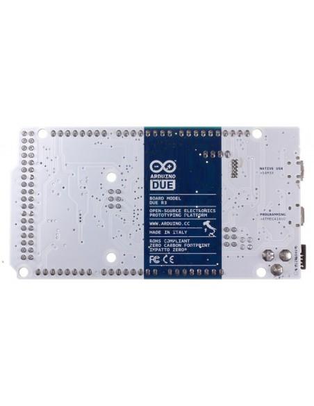 ARDUINO DUE R3 + CABO MINI USB - verso