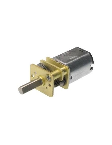 Motor Mini com Engrenagem de Redução 30:1 6V 500RPM - Esquerdo