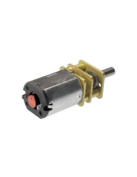 Motor Mini com Engrenagem de Redução 30:1 6V 500RPM - Fundo