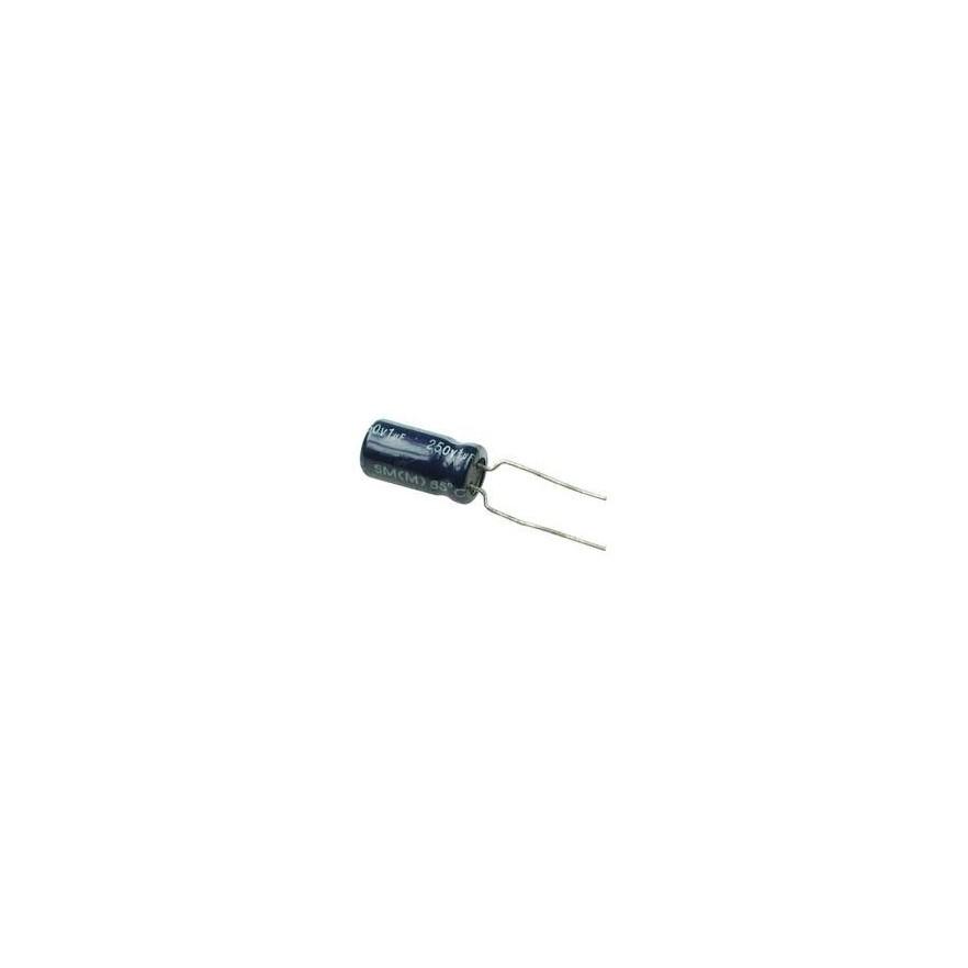 CAPACITOR ELETROLITICO 1uF/250V