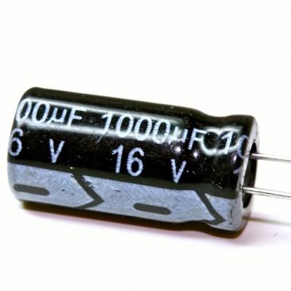 CAPACITOR ELETROLITICO 1000uF/16V