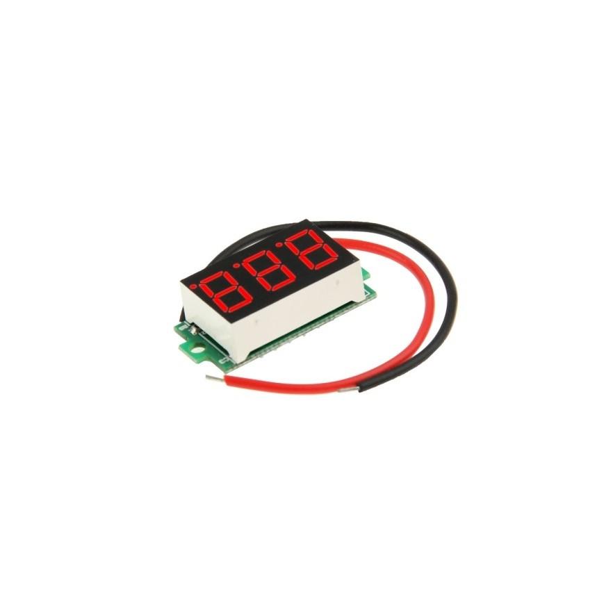 Mini Voltímetro Digital 3.2~30V DC