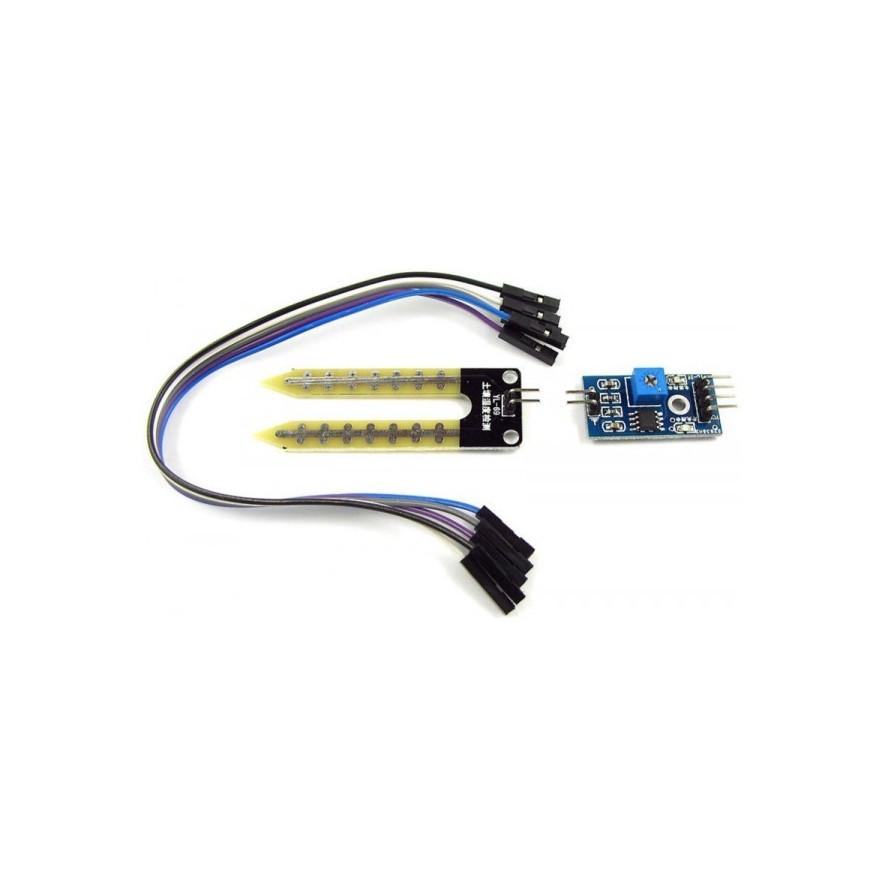 Módulo Sensor de Umidade do Solo - KIT