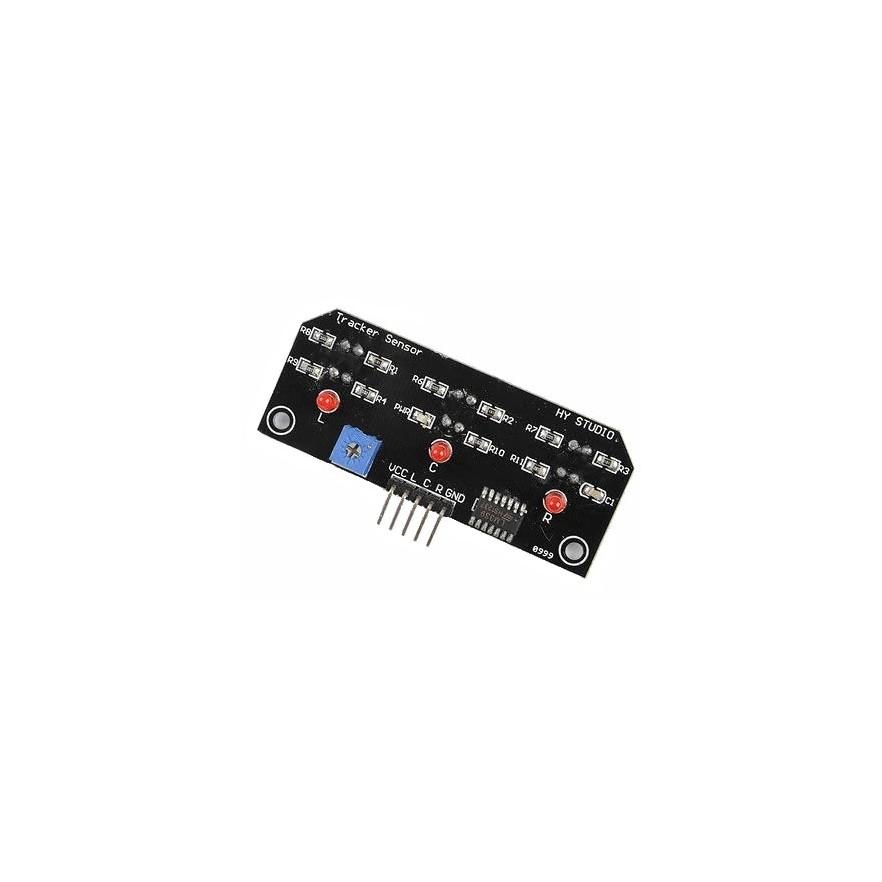 Módulo Sensor de Reflecção IR (Seguidor Linha 3 sensores)
