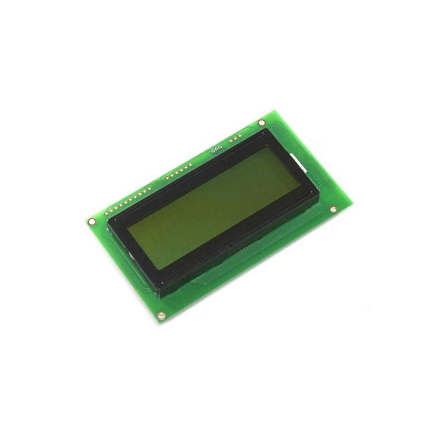DISPLAY CRISTAL LÍQUIDO (LCD 20X04 - VD/PT)