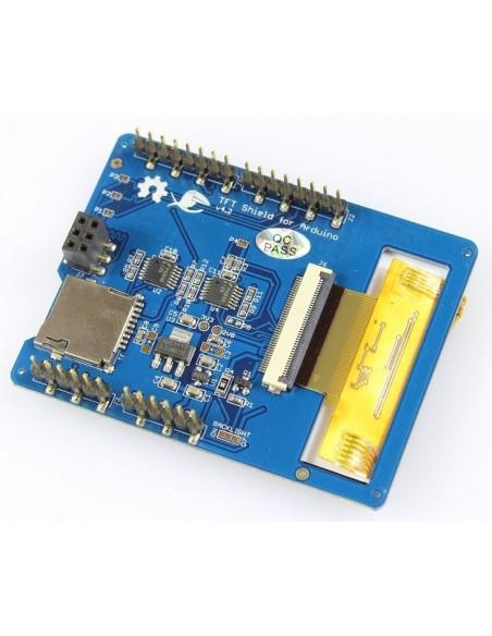 "Shield Tela de Toque LCD 2,8"" TFT : ILI9341 - verso"