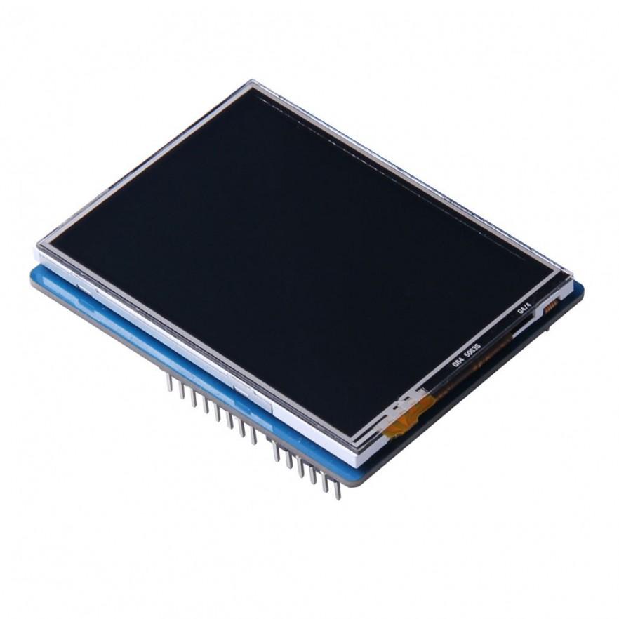 "Shield Tela de Toque LCD 2,8"" TFT : ILI9341 - frente"
