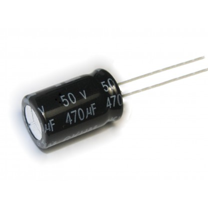 CAPACITOR ELETROLITICO 470uF/50V