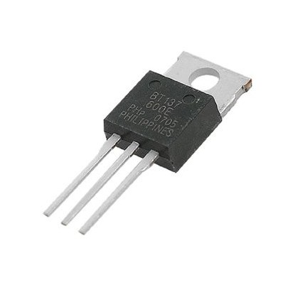 TRIAC BT137-600 (Equivalente TIC226)