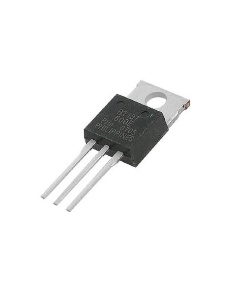 TRIAC BT137-600 (Equivalente TIC226)