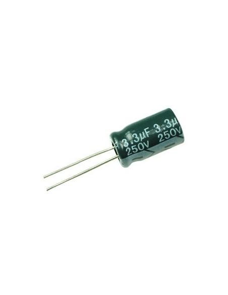 CAPACITOR ELETROLITICO 3,3uF/250V