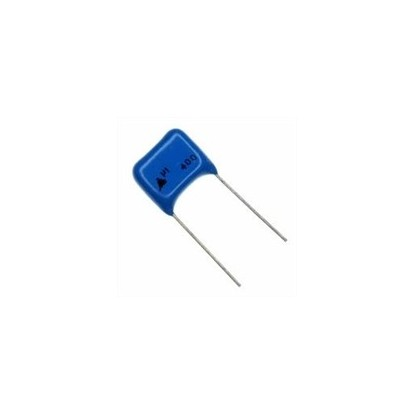 CAPACITOR POLIESTER 1UF/400V