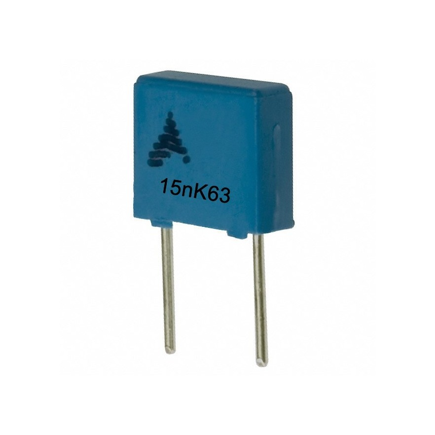 CAPACITOR POLIESTER 15nF/63V
