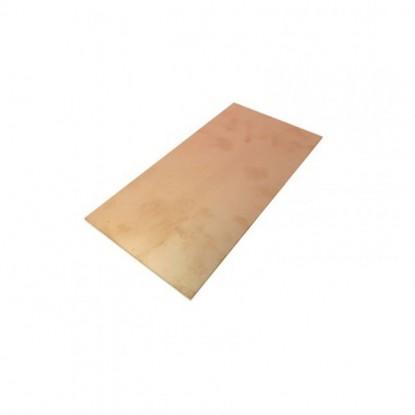 PLACA FENOLITE VIRGEM (FACE SIMPLES 05x10cm)