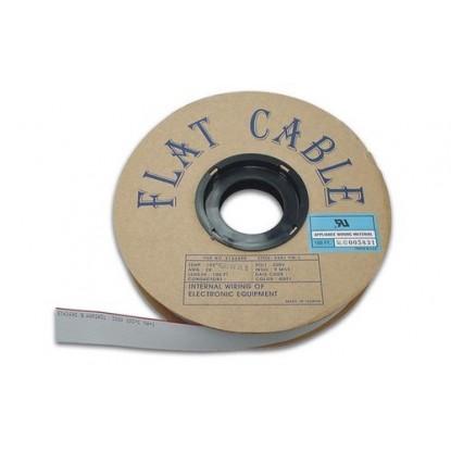 CABO FLAT 14X28AWG CINZA - 16 VIAS