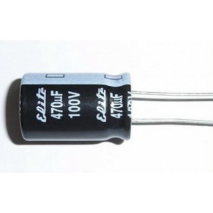 CAPACITOR ELETROLITICO 470uF/100V