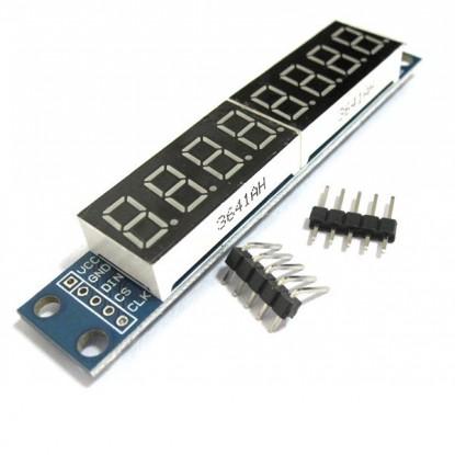 Módulo Display 7 Segmentos - 8 Dígitos - capa