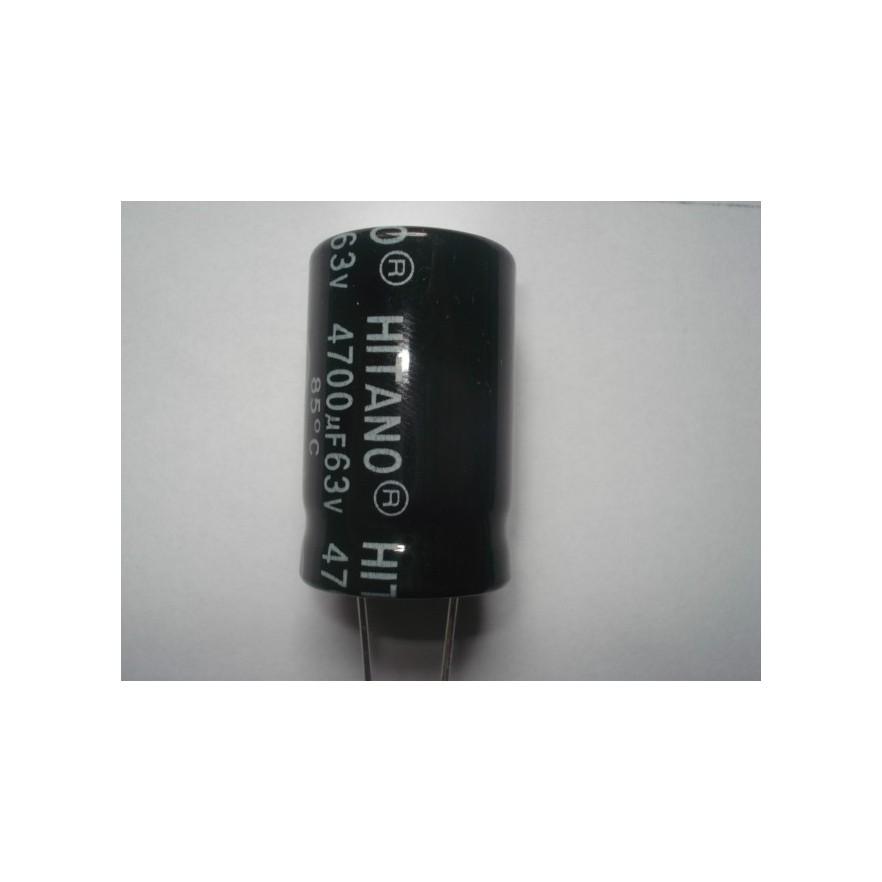 CAPACITOR ELETROLITICO 4700uF/63V