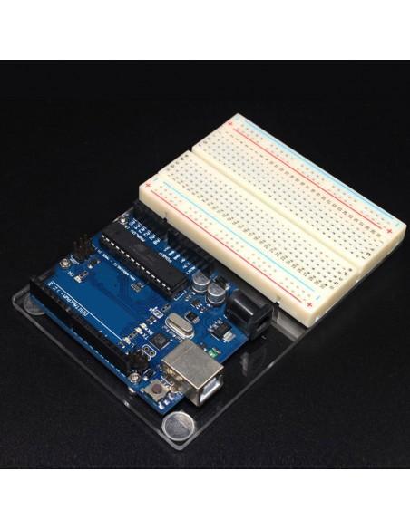 Base Acrílica para Arduino UNO - completa