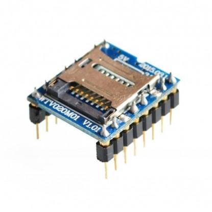 Módulo Reprodutor de Som MP3 - WTV020-SD