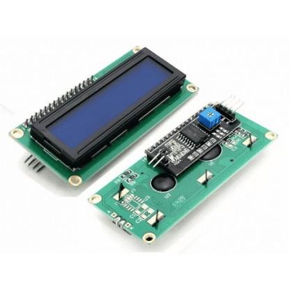 DISPLAY LCD  (16X02 - AZ/BR) com MÓDULO I2C