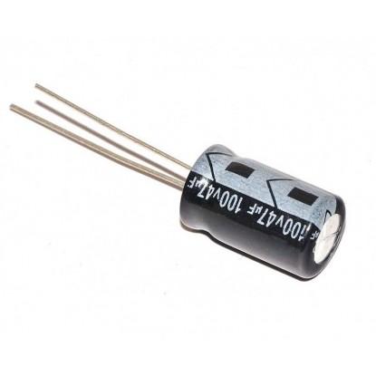 CAPACITOR ELETROLITICO 47uF/100V