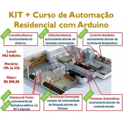 KIT-Curso Automação Residencial com Arduino