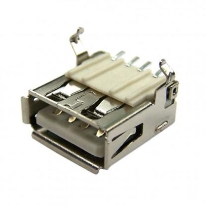 CONECTOR USB FEMEA TIPO A (YH-USB01C - SMD)