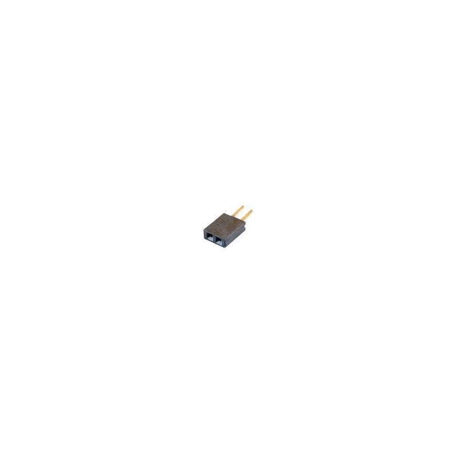 CONECTOR BARRA DE PINOS FEMEA (1X2X11,2 - 180 graus)